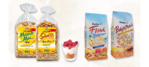 Müesli-Riegel-Snacks