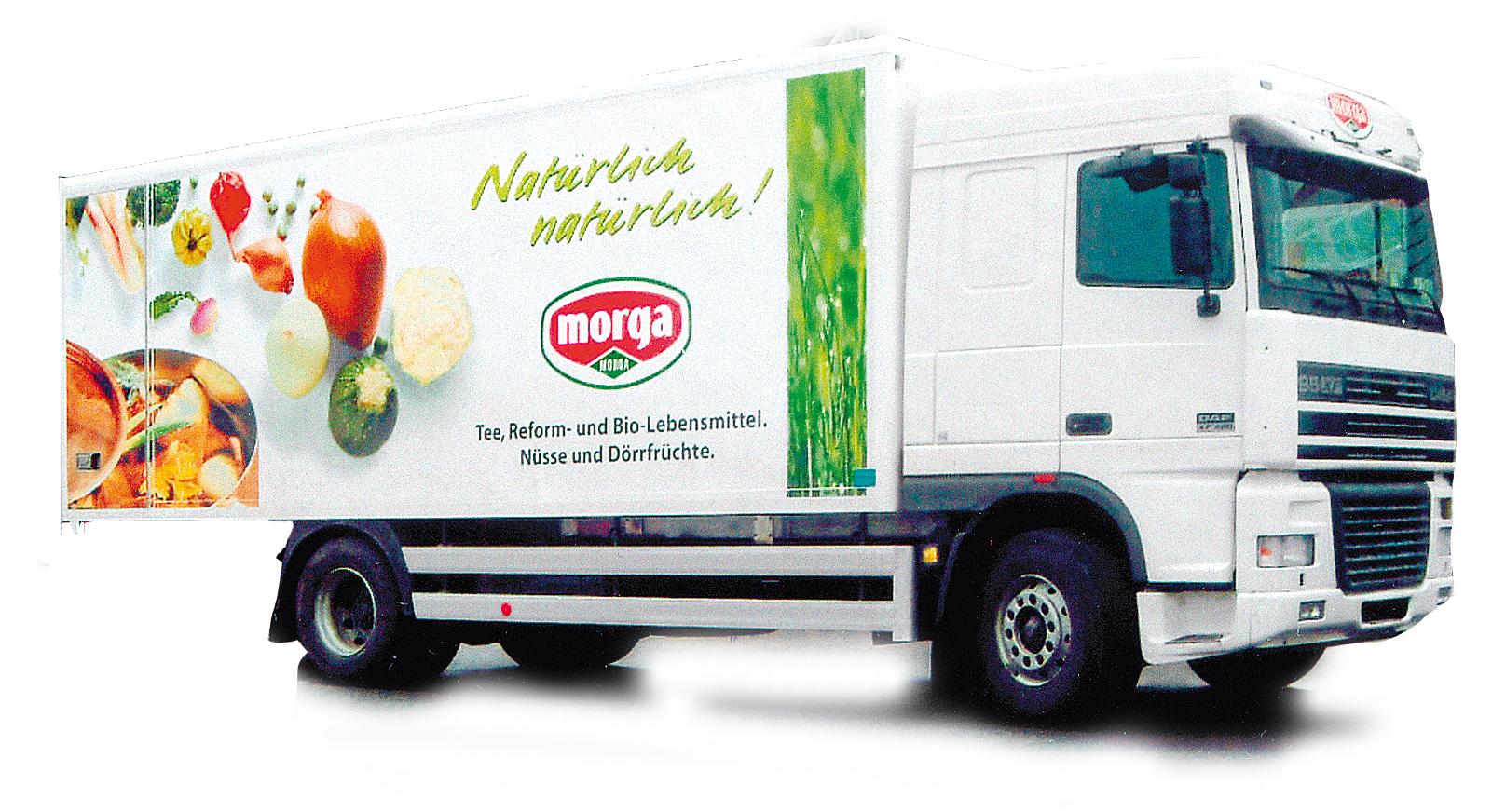 Morga Lastwagen