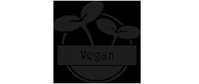 ohne tierische Produkte (Fleisch, Fisch, Eier, Milch, Honig usw.)